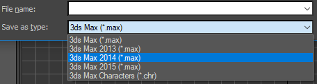 3DS Max: Converting 2018 Scene Files to Previous Versions